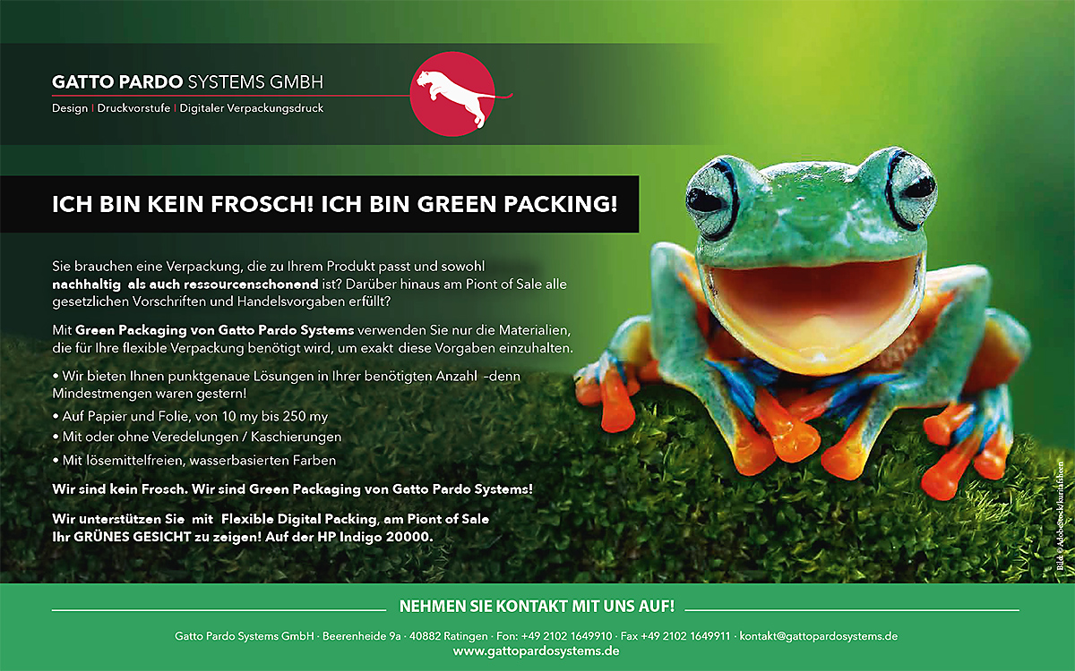 GattoPardoSystems Green Packing